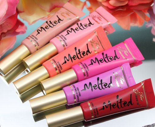 too faced melted lipstick  - Google Search