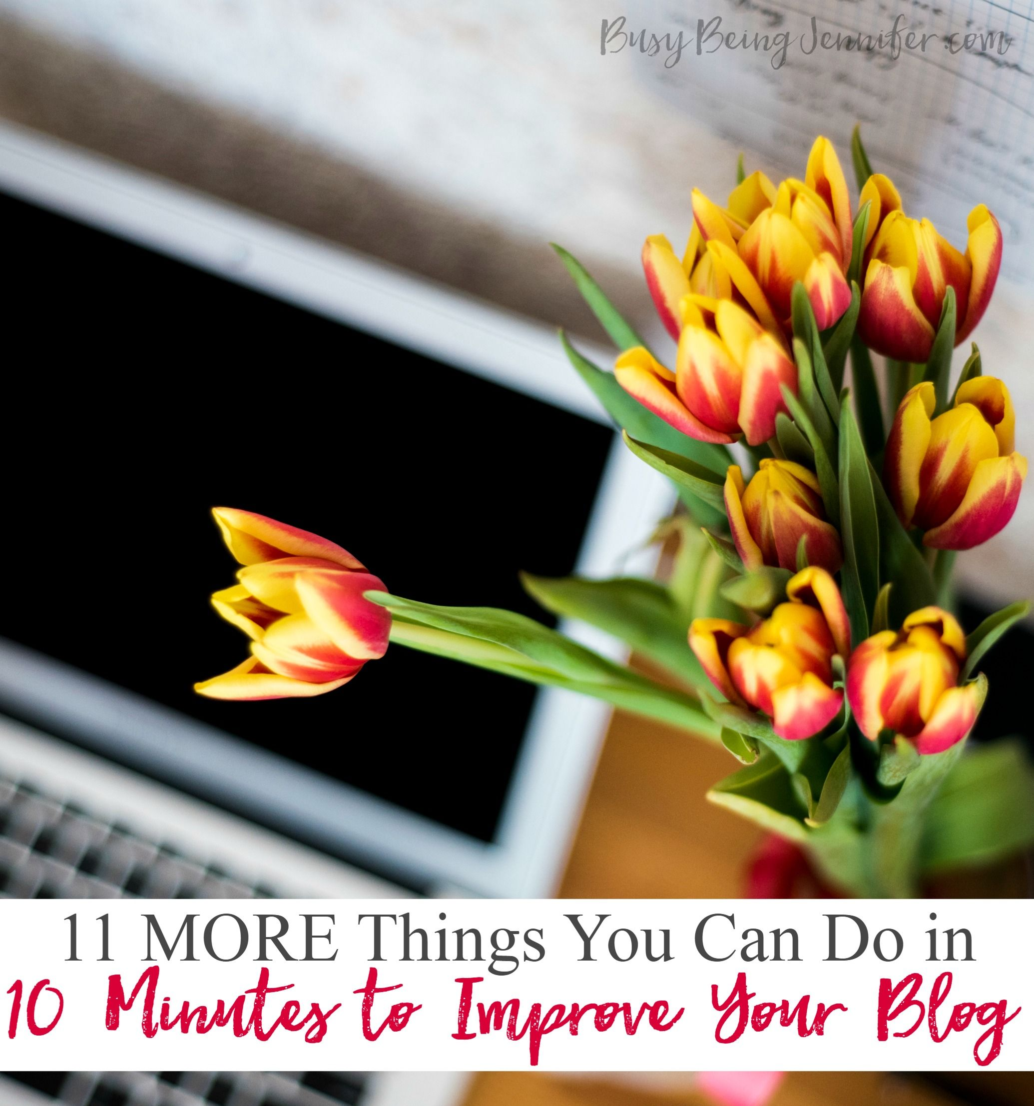 MORE things you can do in 10 minutes to improve your blog! These things that only take 10(ish) minutes that you can do to grow and improve your blog.