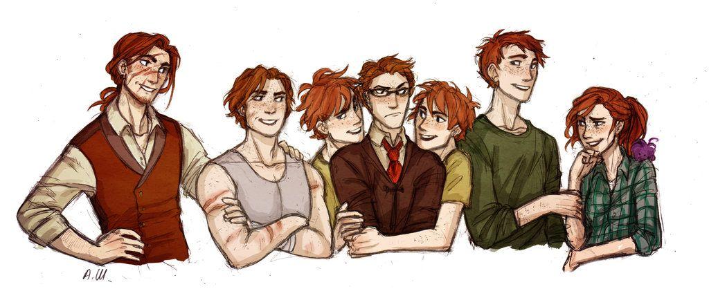 Weasley by drakonarinka on DeviantArt | Harry Potter ...