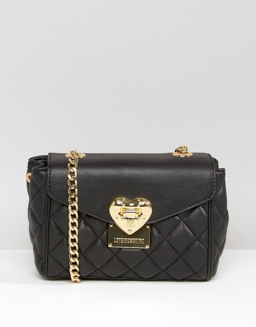 Love Moschino Quilted Small Shoulder Bag | Moschino ...