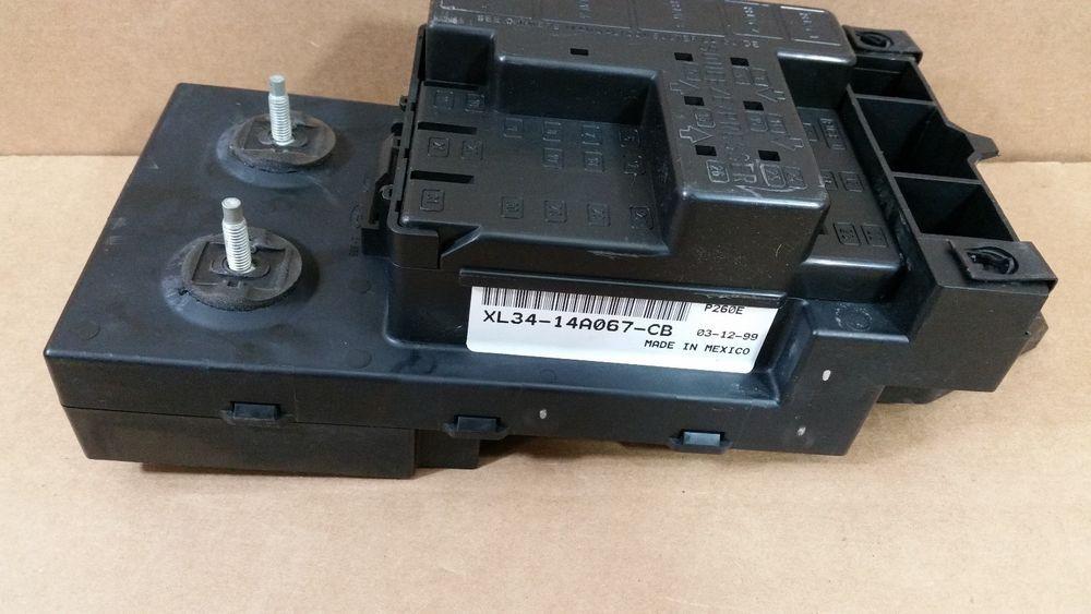 1999-2003 ford f150 under dash fuse relay box oem # xl34-14a067-cb #fordoem