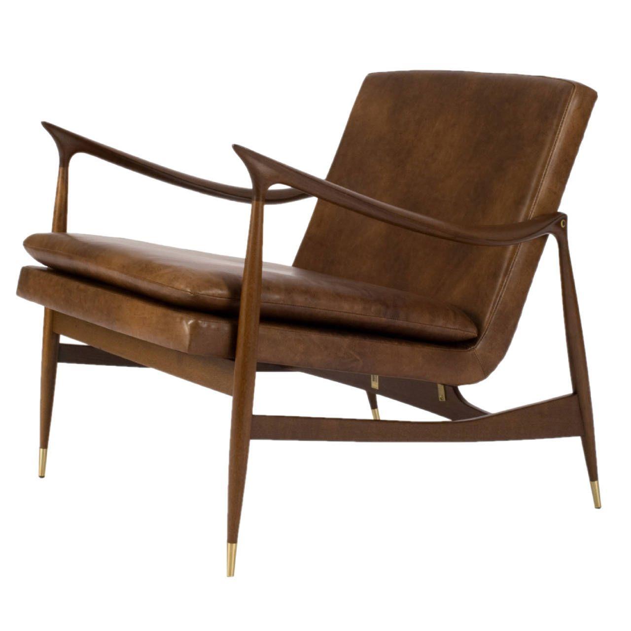 Dinamarquesa Leather Armchair By Jorge Zalszupin Armchair
