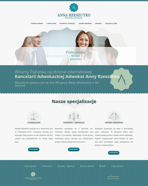Anna Rzeszutko lawyer - Law Firm - Best website, web design inspiration showcase