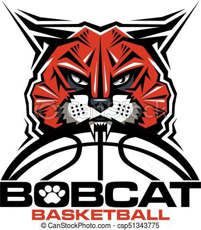 vector bobcat basketball stock illustration royalty free rh pinterest ca