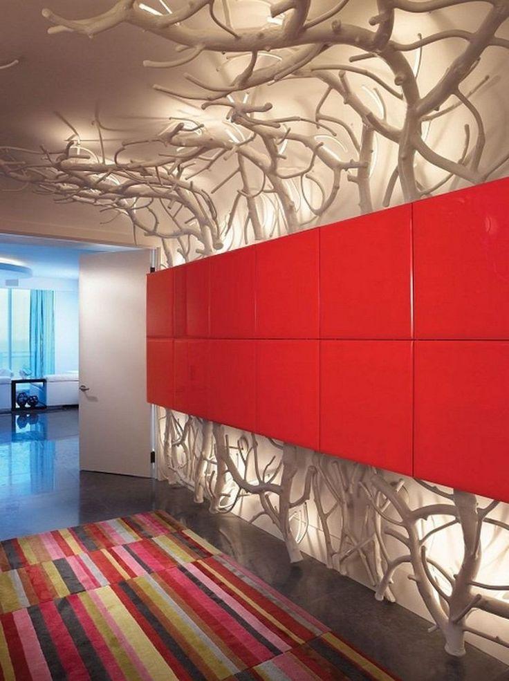 Idée Décoration Maison En Photos 2018 u2013 diy-deco-branches-arbre - decoration maison salon moderne