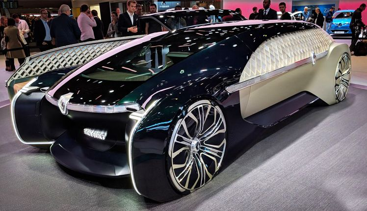 Renault EZULTIMO, the Allelectric, Automatic car