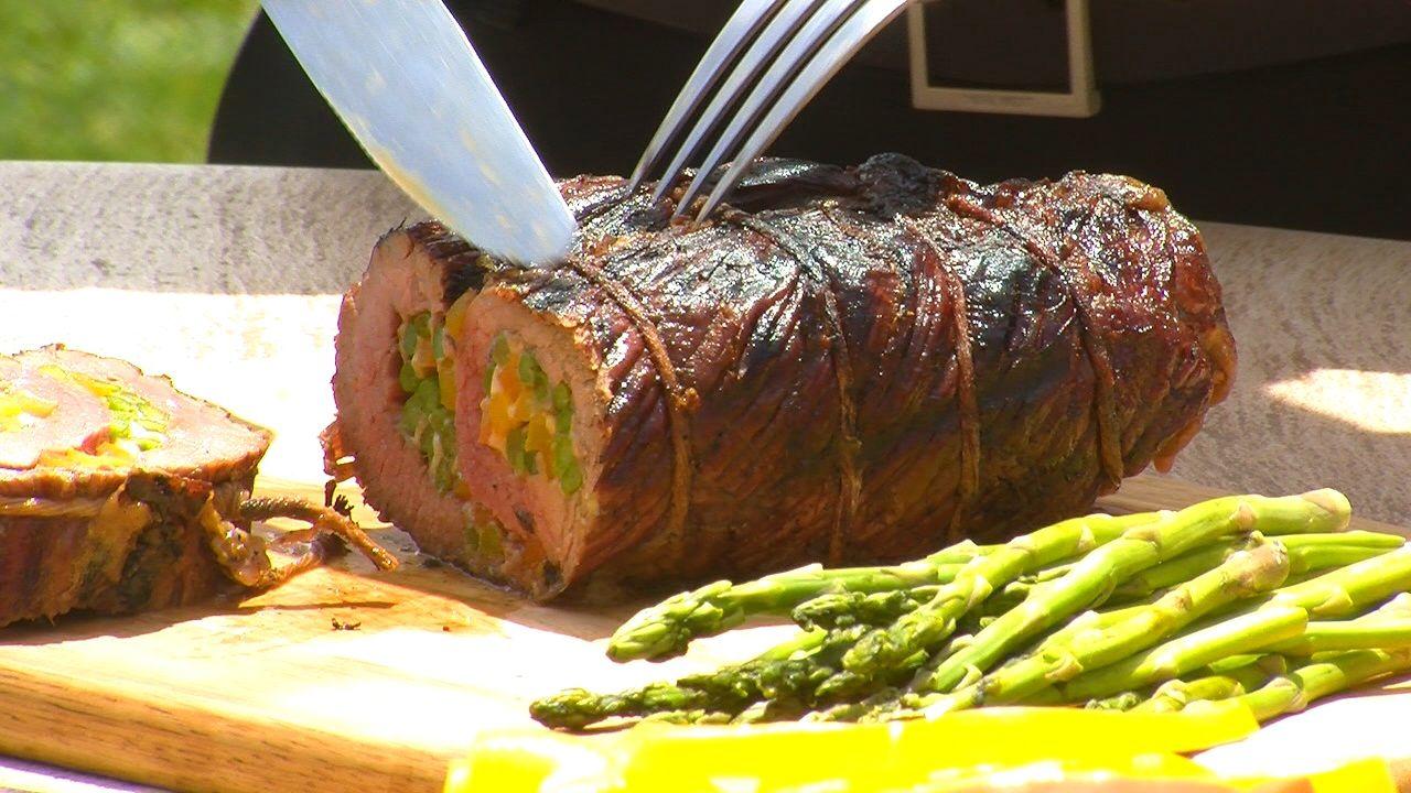 how to cook flank steak pinwheels