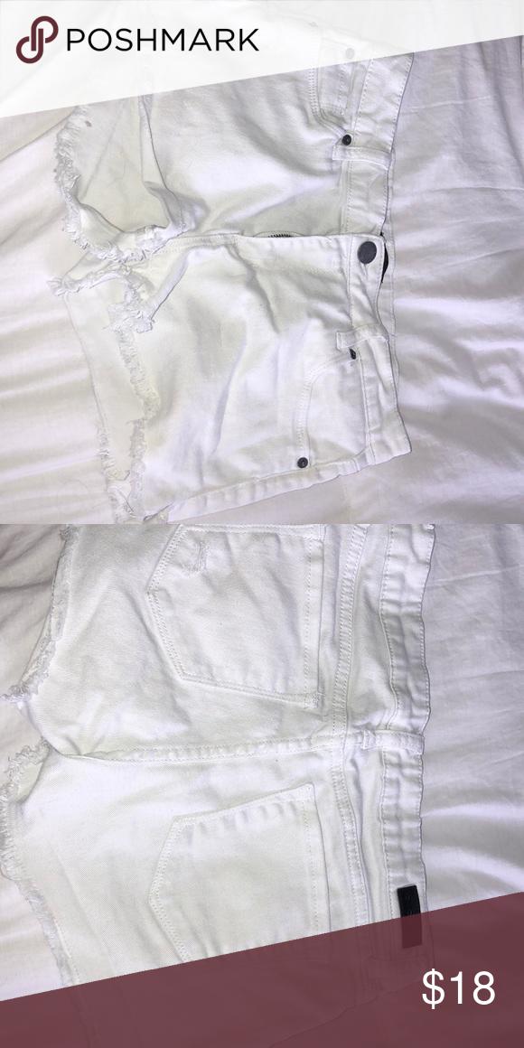 1d3d8aae2a STS Blue brand denim shorts White denim shorts Size 26 Brand is STS Blue  STS Blue