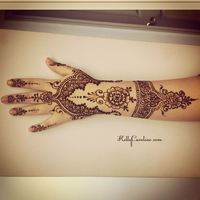 Love Henna Tattoos: I Love This Ended Up Looking Like Lacy Glove. I Always
