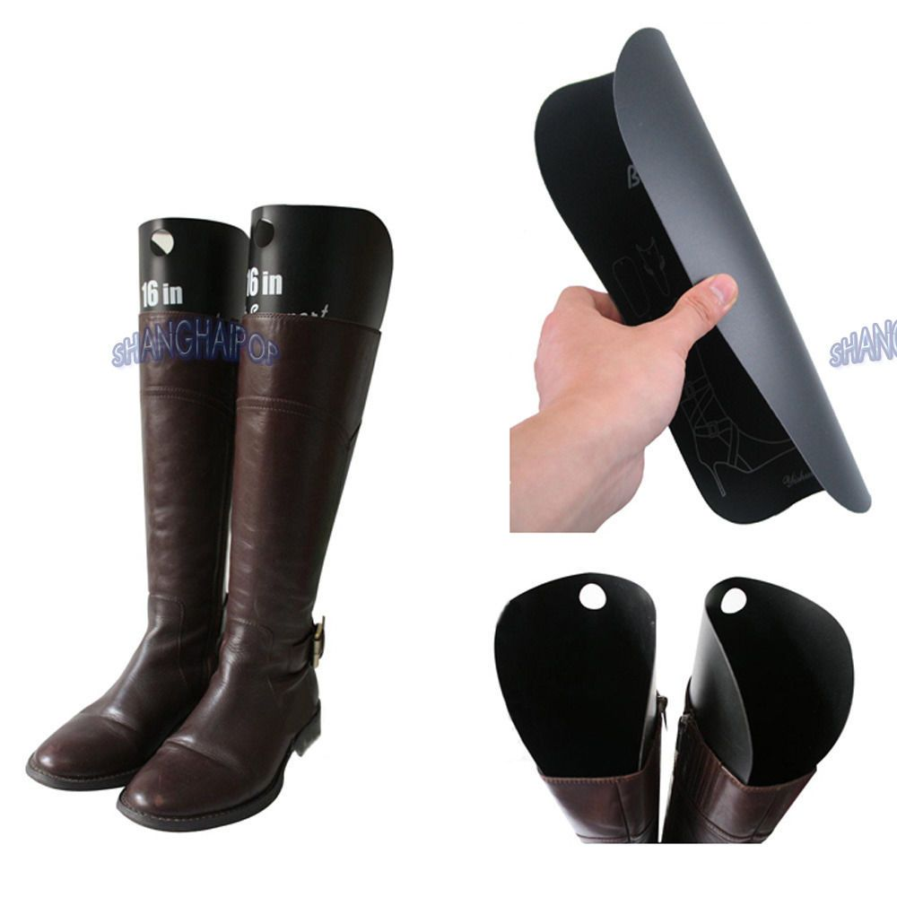 4 X Womens Boots Inserts Shaping Tree Support Plastic Holder Stretcher  Storage In Home, Furniture