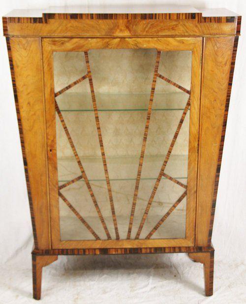Cool Art Deco Kitchen Cabinets: Antique Art Deco China Cabinet
