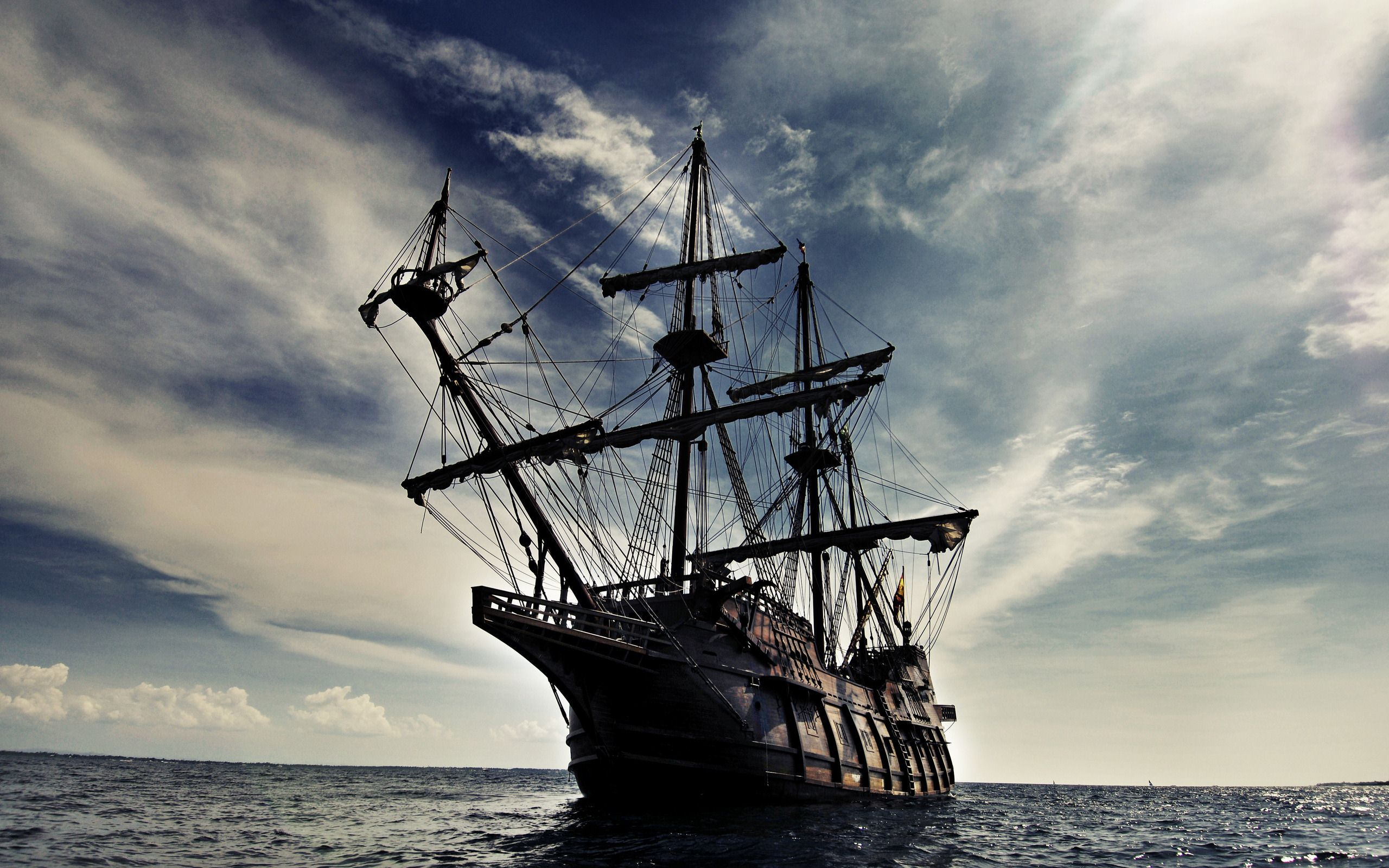 Pirates Of The Caribbean Black Pearl Wallpaper For Iphone Pk7