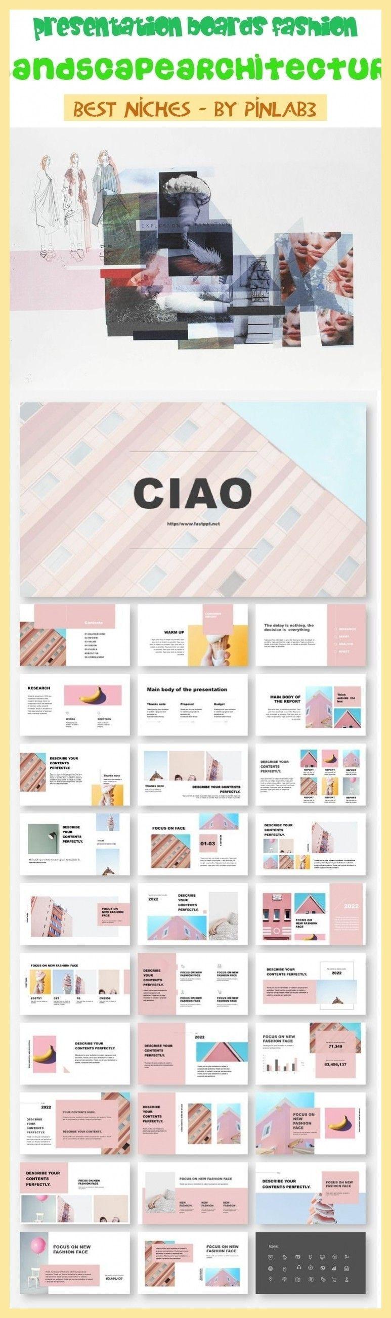 Presentation Boards Fashion