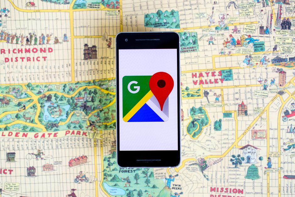 How To Get Street Names On Google Earth App