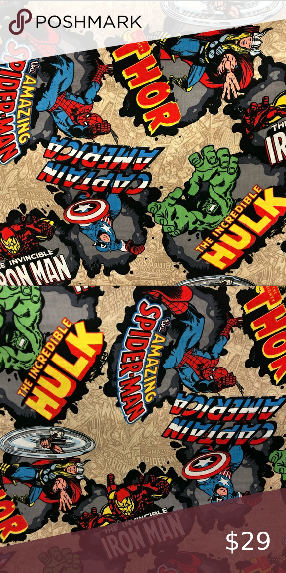 Marvel cotton sewing  fabric.
