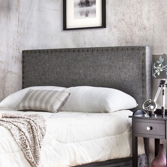 Create Your Dream Bedroom: Best Upholstered Headboards | Pinterest ...