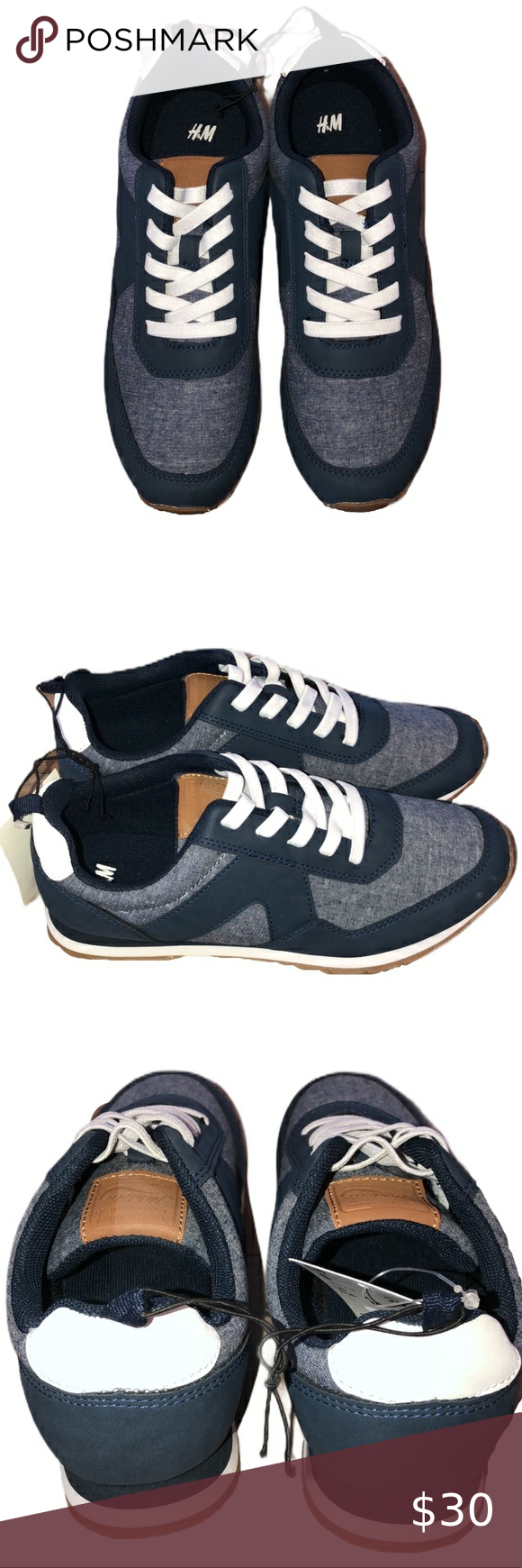 Lace Sneakers H\u0026M NWT Boys' Pull