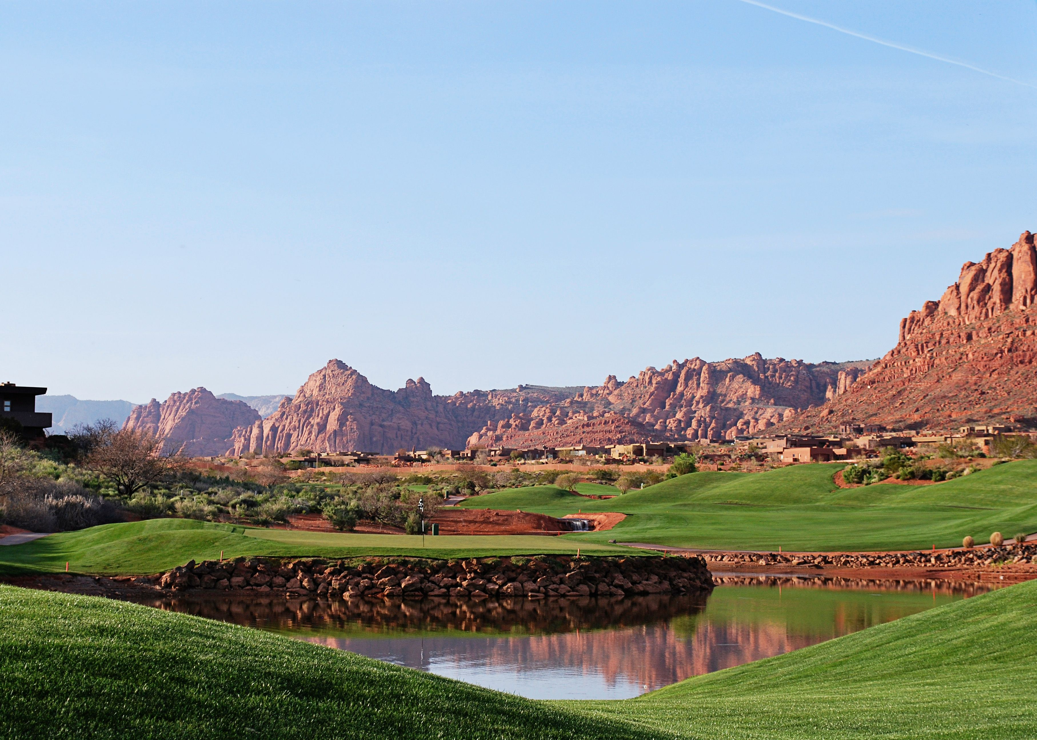 The Hub S Golf Course Entrada At Snow Canyon Country Club St George