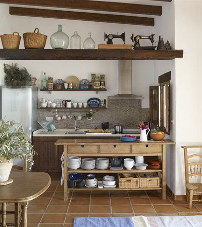 Pin Di Kasumi Kawagishi Su Casa Vieja Aldea Arredo Interni Cucina Idee Per La Cucina Stile Cucina