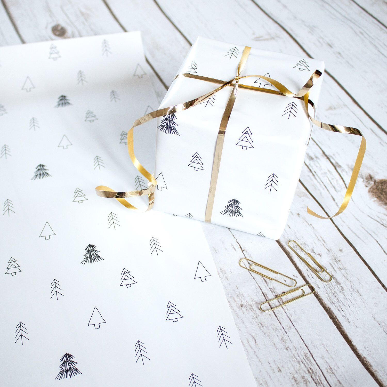 Christmas Wrapping Paper Gift Wrap Scandinavian Gift Etsy Christmas Wrapping Paper Gift Wrapping Paper Paper Gifts