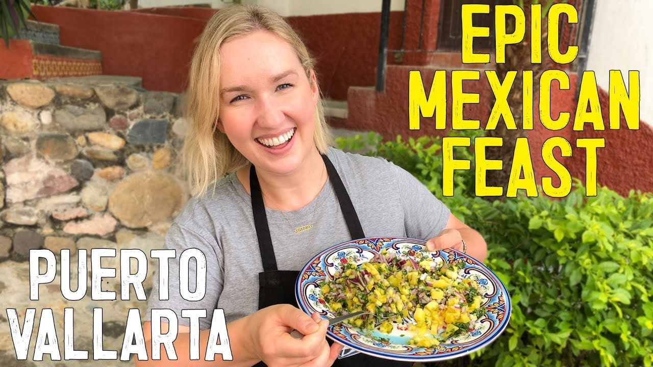 Epic mexican feast in puerto vallarta backpacker travel