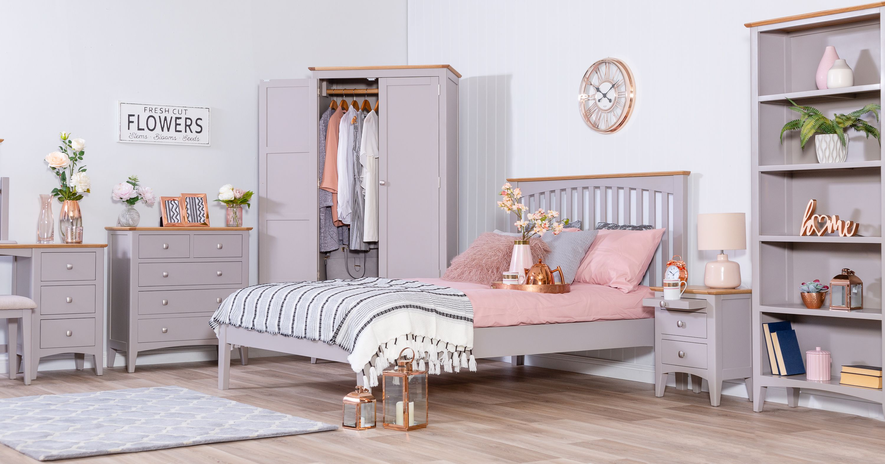 Chilternoak Available For The Bedroom Living Room And Dining Room You Ll Be Spoilt For Choice When Choosing Whic Gorgeous Furniture Home Bedroom Grey Bedding