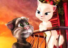 Juego De Talking Tom Y Talking Angela Gratis Talking Tom Cat Love Pet Talking Tom