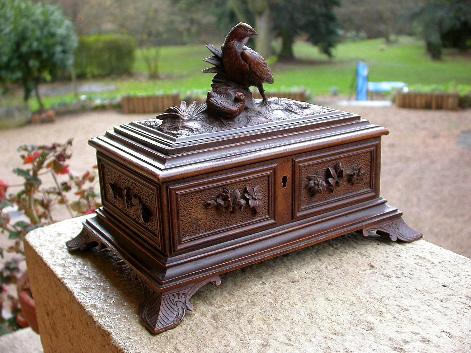 French antique jewelry box Antique jewelry boxes Pinterest