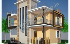 Modern House Plans In Jamaica With Two Storey House Foundation With Good House Paint Color With In 2020 Exterior Wall Design Modern House Plans Best House Paint Colors