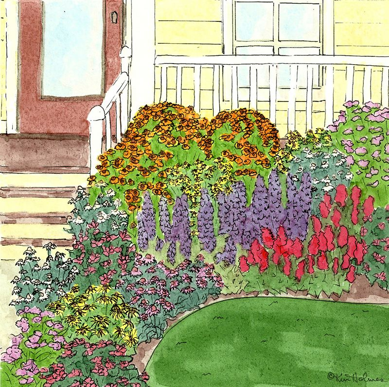 This preplanned garden comes with everything you need to plant your – Pre Planned Drought Tolerant Garden