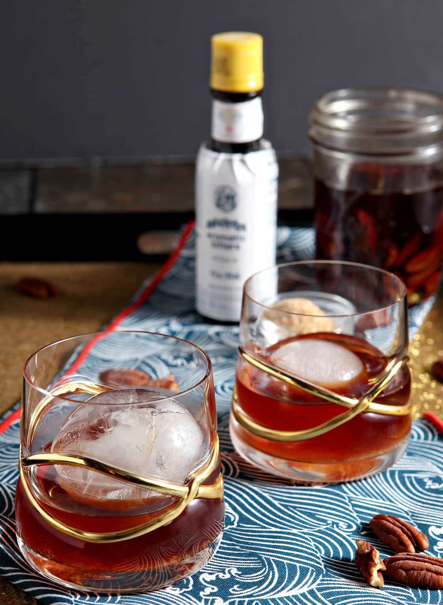 Perfect old fashioned cocktail 29