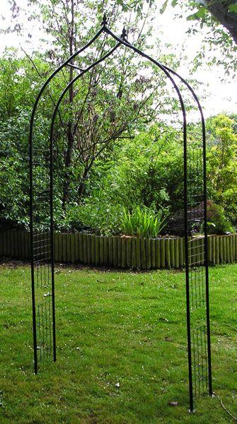 Gothic Style Garden Arch Gothic Garden Garden Archway Garden Arch