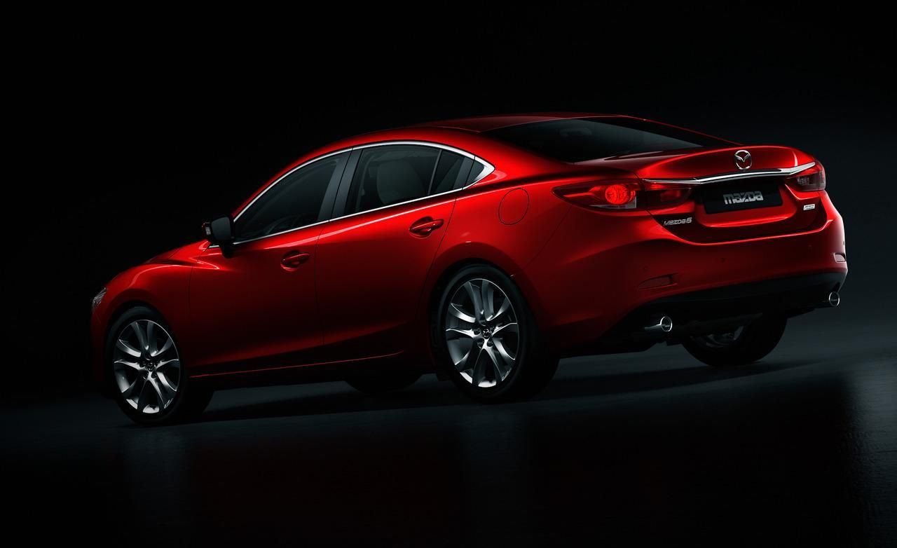 2014 Mazda 6 Red Rear View Wallpaper Mazda cars, Mazda 6