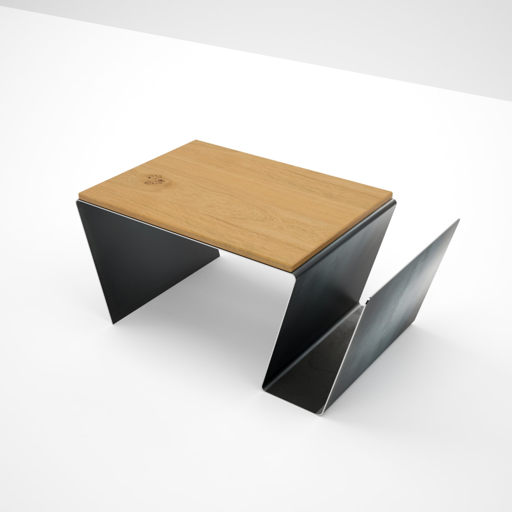 Couchtisch Sivy (schwarz, grau, Holz, Metall) </div>                                   </div> </div>       </div>                      </div> <div class=