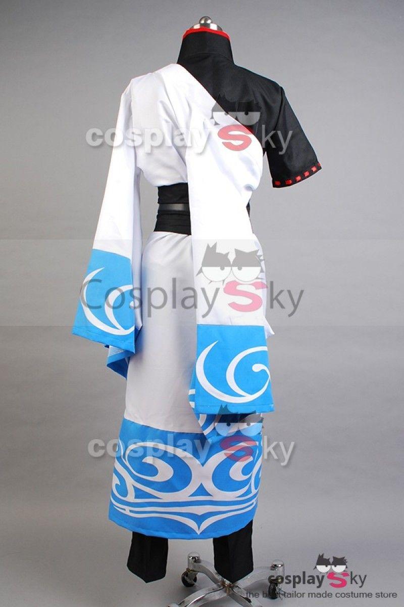 791e5e470 Gintama silver soul Gintoki Sakata Cosplay Costume Kimono, custom made in  daily use standard,Best Quality,great for Gintama cosplay.