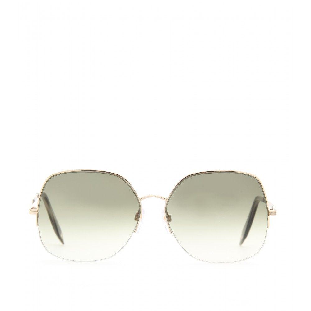 99ad20fefd895 Fine Metal Square Sunglasses ▻ Victoria Beckham ✽ mytheresa