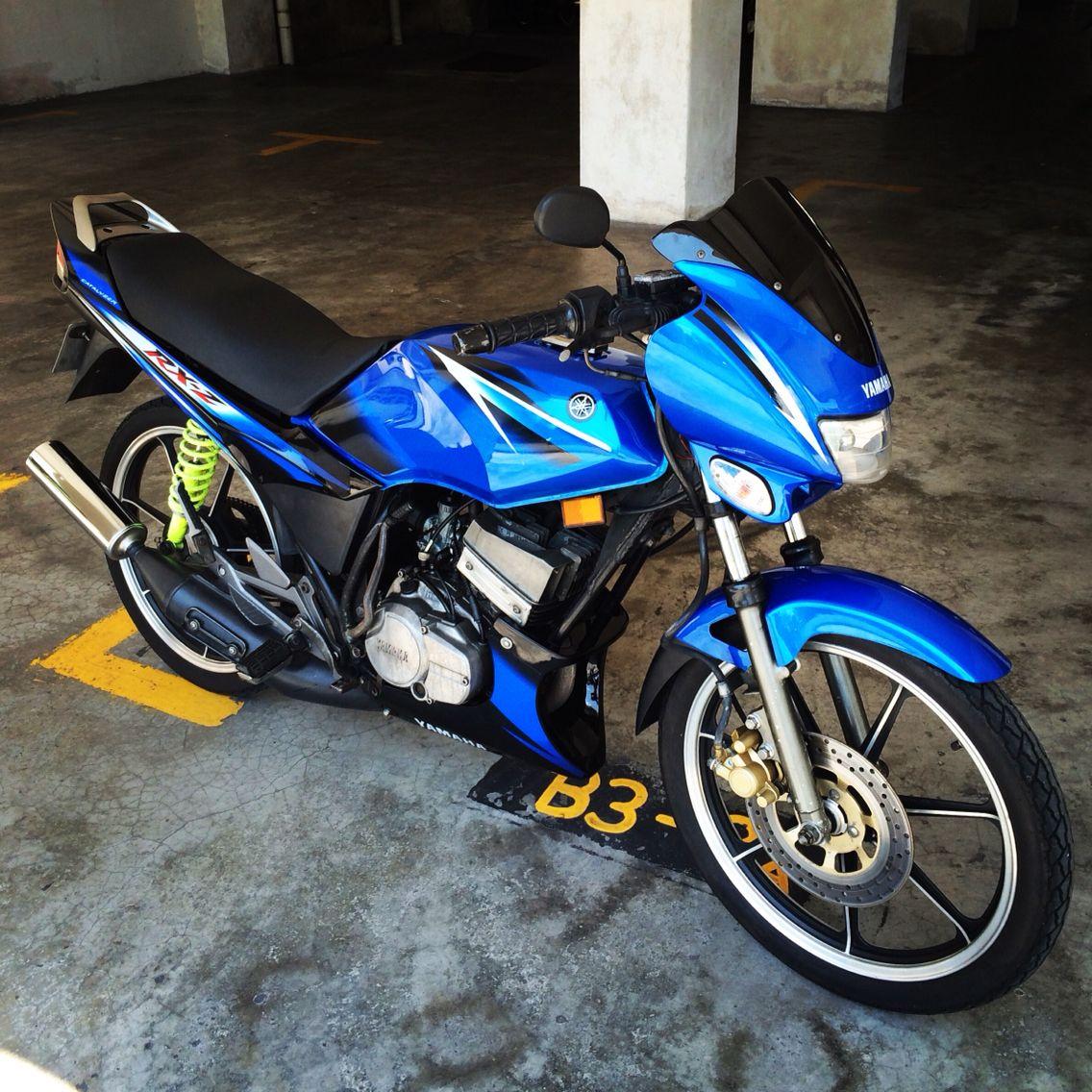 Yamaha Rxz Biru Skala Yamaha Rxz Yamaha Rx 135 Bike