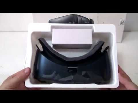 9ccdb4acfc7e Samsung Gear VR Virtual Reality Headset Unboxing - YouTube