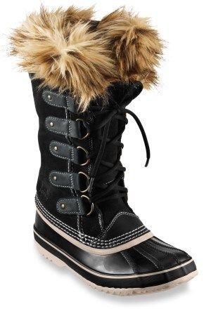 987847aca7f1 Sorel Joan of Arctic Winter Boots - Women s - Free Shipping at REI.com  black 10