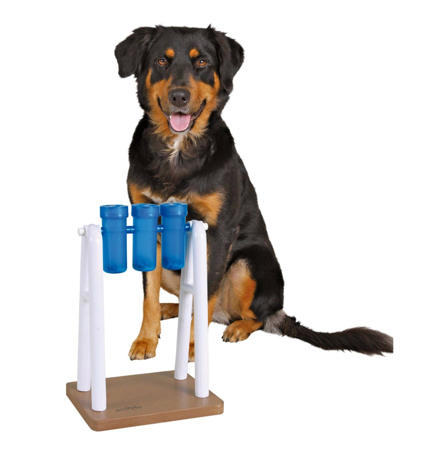 Amazon Com Trixie Mad Scientist For Dogs Level 2 Pet Agility Products Pet Supplies Durable Dog Toys Kong Dog Toys Interactive Dog Toys