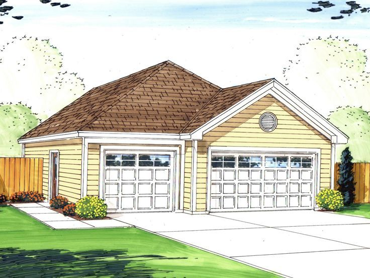 Tandem Garage Plans Tandem Bay Garage Designs The Garage Plan