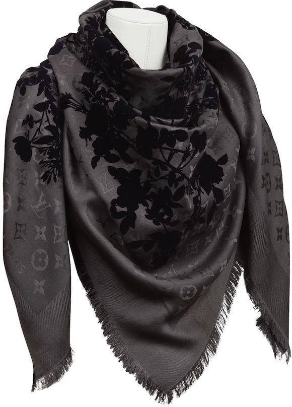LV Monogram Poetic shawl   My Style   Pinterest   Shawl, Monograms ... 741890f63ad