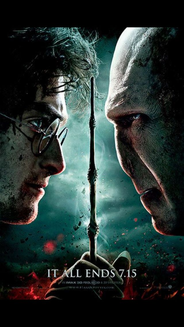 Deathly Hallows Part 2 movie poster