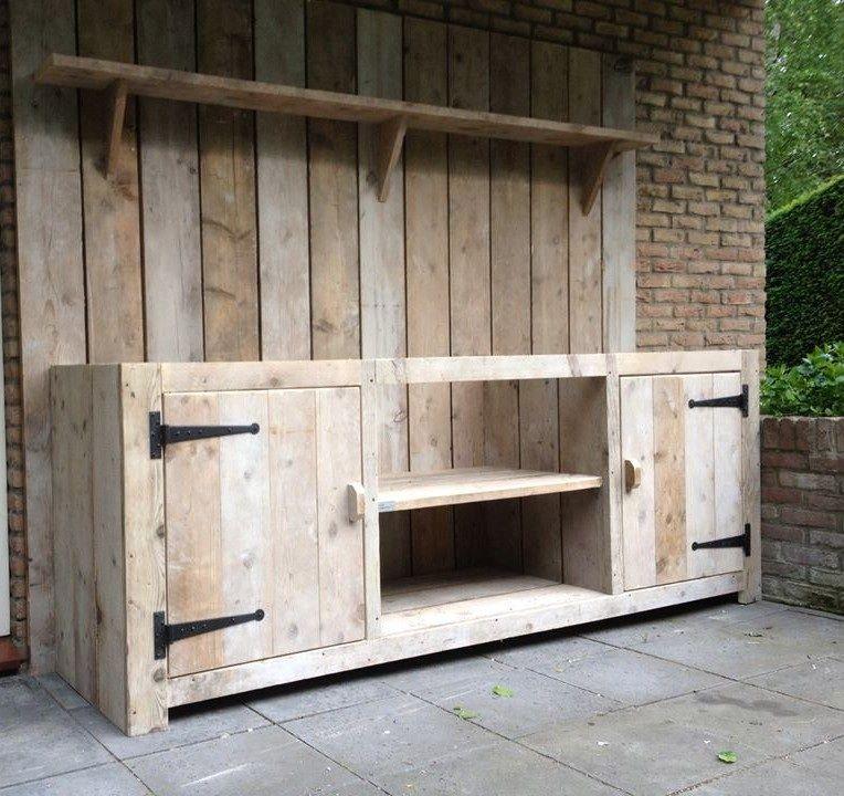 Keuken Opberg Ideeen : Buitenkeuken met achterwand buitenkeukens Pinterest Recycled