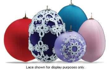 Where to buy satin covered styrofoam balls for Christmas decorations ...