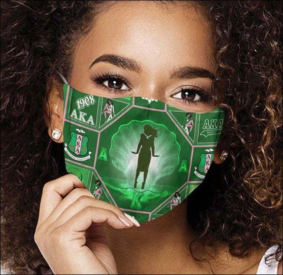 Africa Mask Face Aka Mask Aka Paraphernalia Sorority Mask Alpha Kappa Alpha Face Mask Custom Aka Mask Soft Fabric Reusable Face Mask By Lulu S Shop Facemask