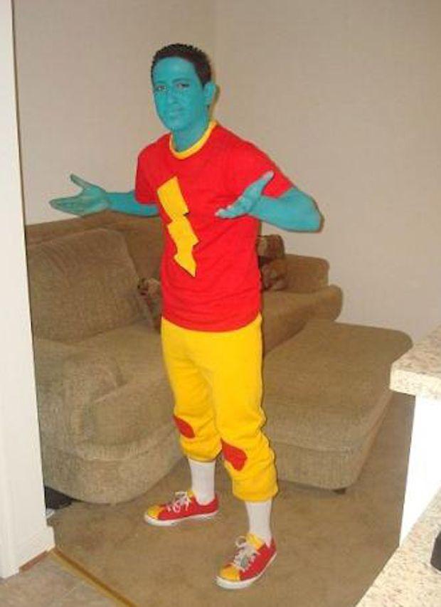 27 Halloween Costumes That Your Childhood Self Would Be ... Quailman Doug Costume