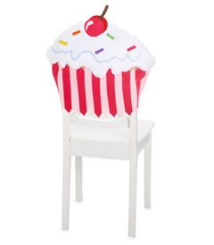 cupcake chair covers!  One day when I open my bakery :)