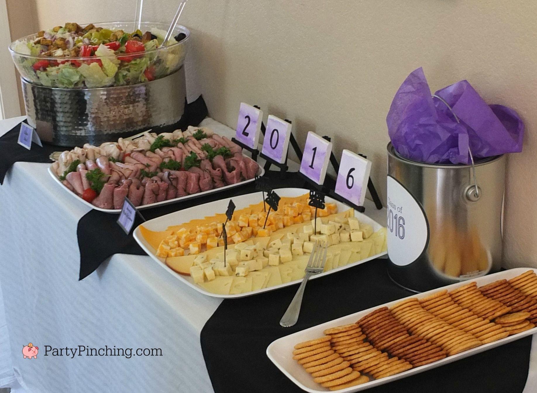 Art theme graduation party graduation party ideas food