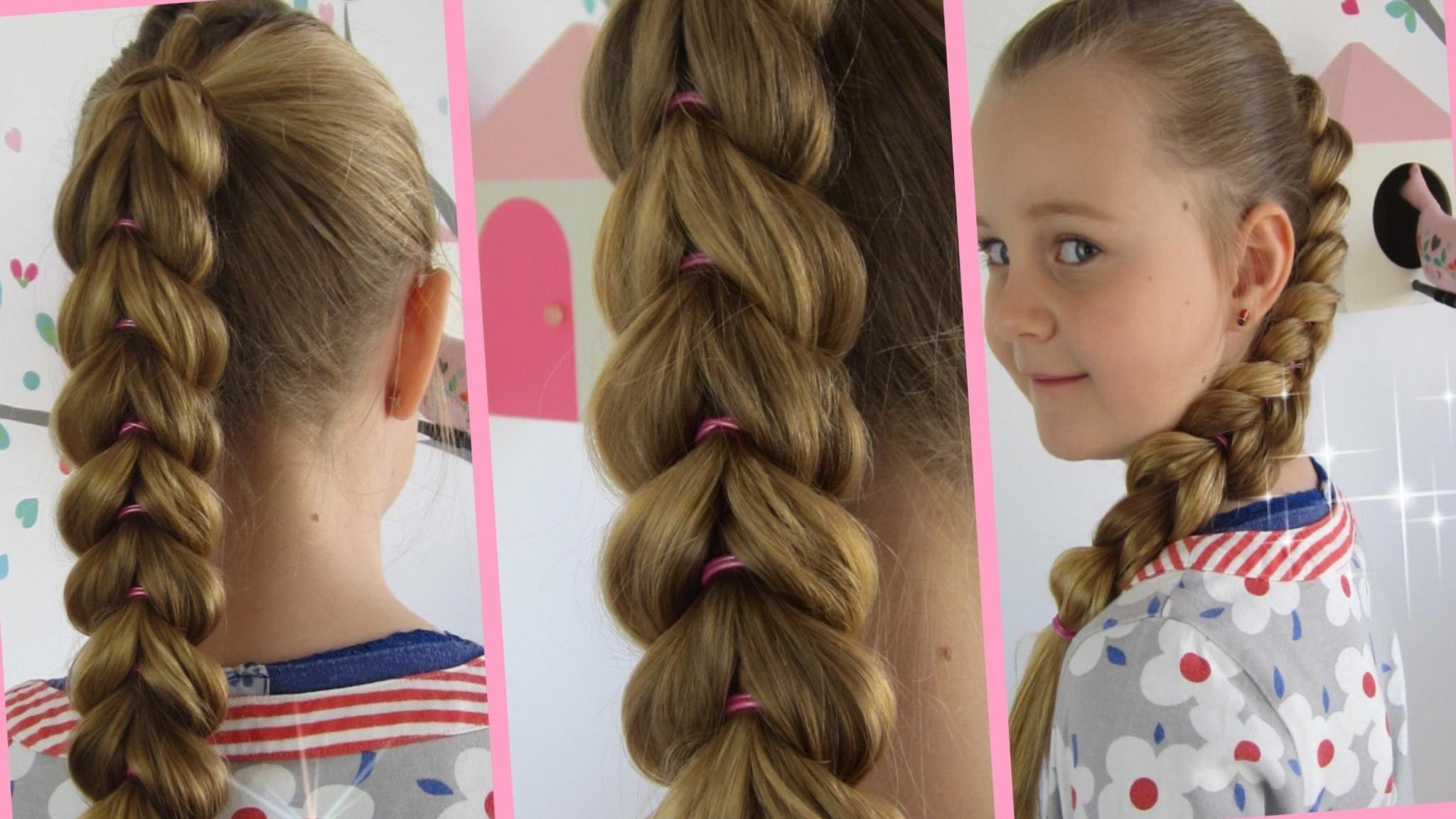 Frisur lange haare zopf